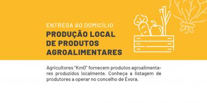 """Agricultores """"Km0"""" fornecem produtos agroalimentares produzidos localmente"""