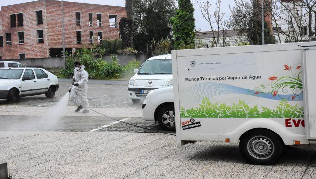 Higienização e Limpeza de Espaços Públicos