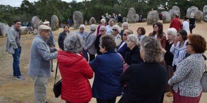 Seniores eborenses conheceram mais sobre o Cromeleque dos Almendres