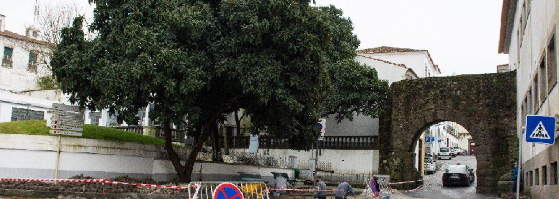 """No âmbito do projeto """"Évora Turismo para Todos"""": avançam a bom ritmo as obras de n..."""