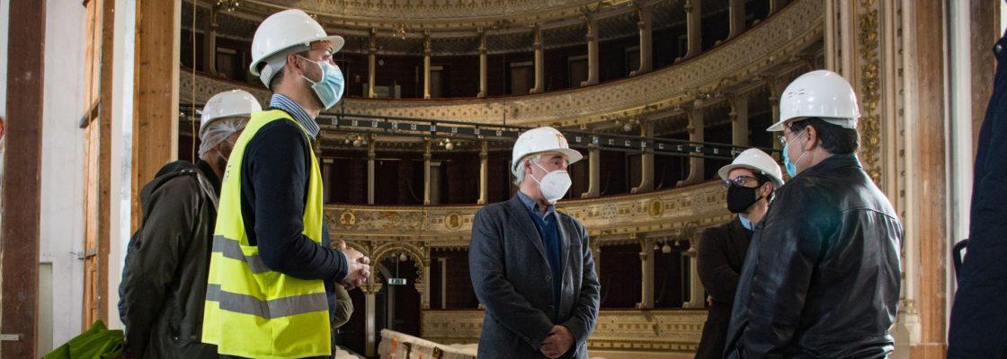 Obra de Reabilitação do Teatro Garcia de Resende concluída até final de Março