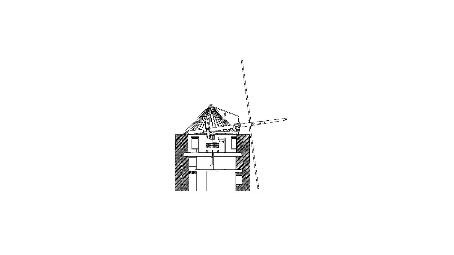Alto de São Bento vai voltar a ter um moinho de vento para a função tradicional da moagem de cereal