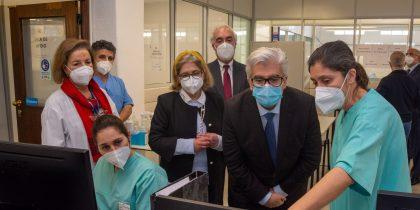 Secretário de Estado Adjunto e da Saúde visita Equipamento Municipal de Apoio ao Hospital para Doentes Covid-19