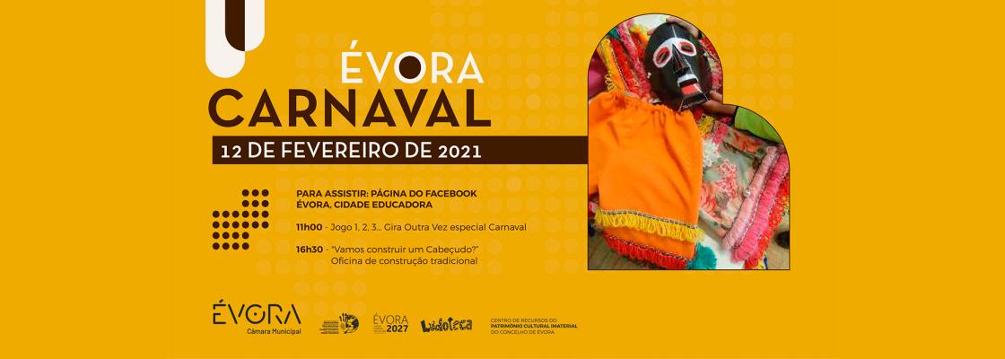 Carnaval de Évora – 12 de fevereiro de 2021