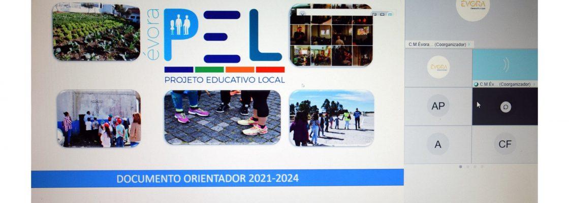 Início do Projecto Educativo Local de Évora apresentado em reunião do Conselho Municipal