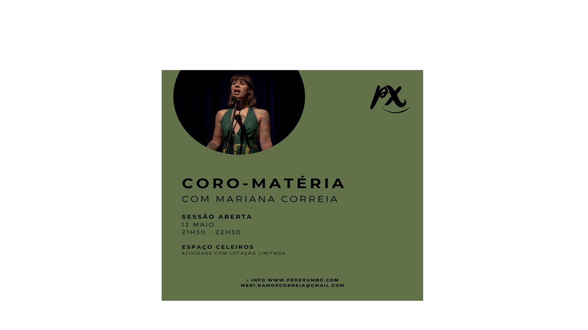 (Português) Coro-Matéria – Sessão Aberta