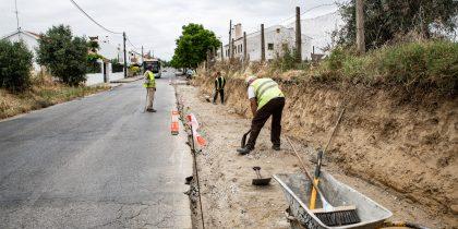 Ligação pedonal ao Centro Histórico vai ficar completa em todo o troço urbano da Estrada da Chaínha