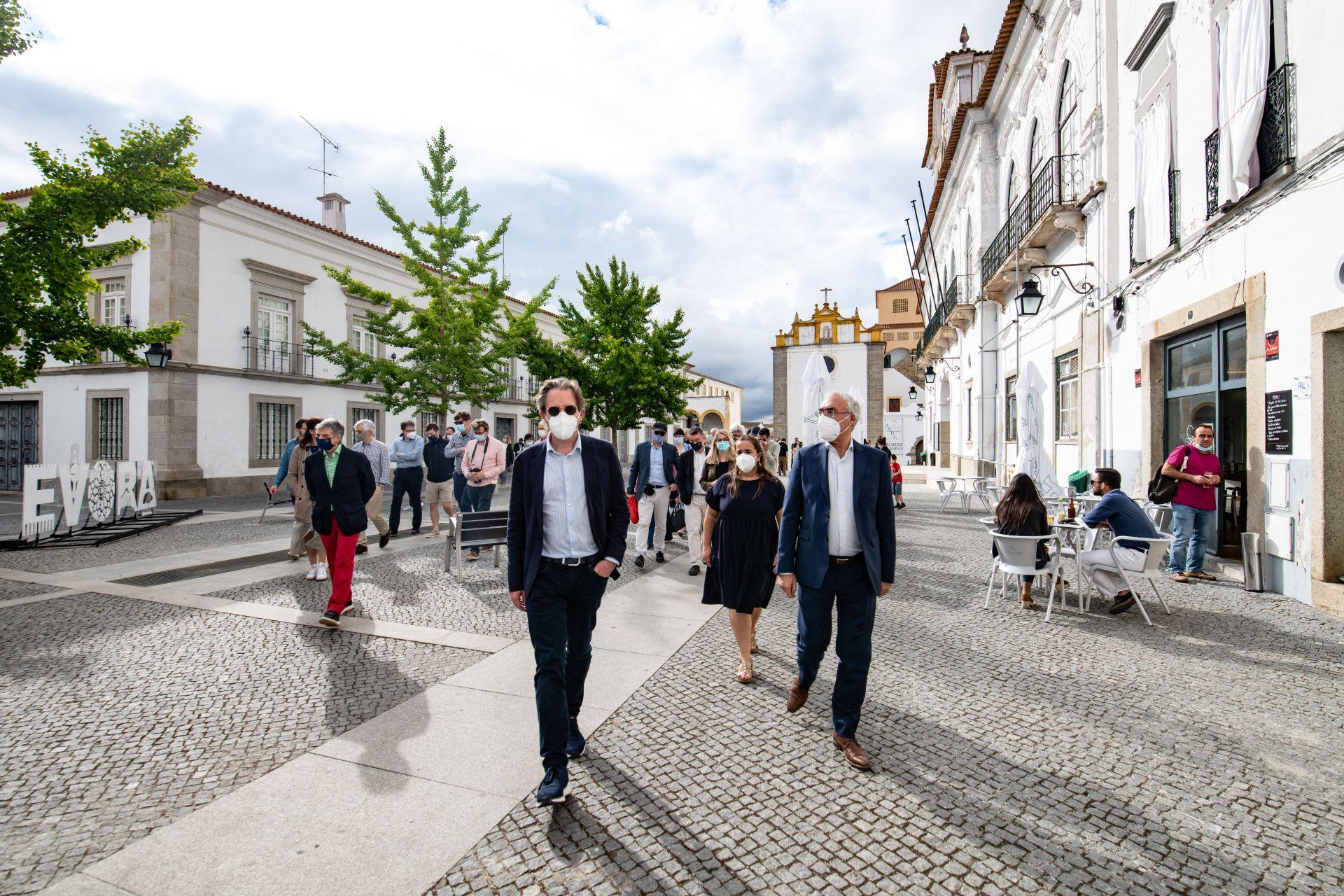 Comité de Representantes Permanentes dos Governos dos Estados-Membros da União Europeia recebido em Évora