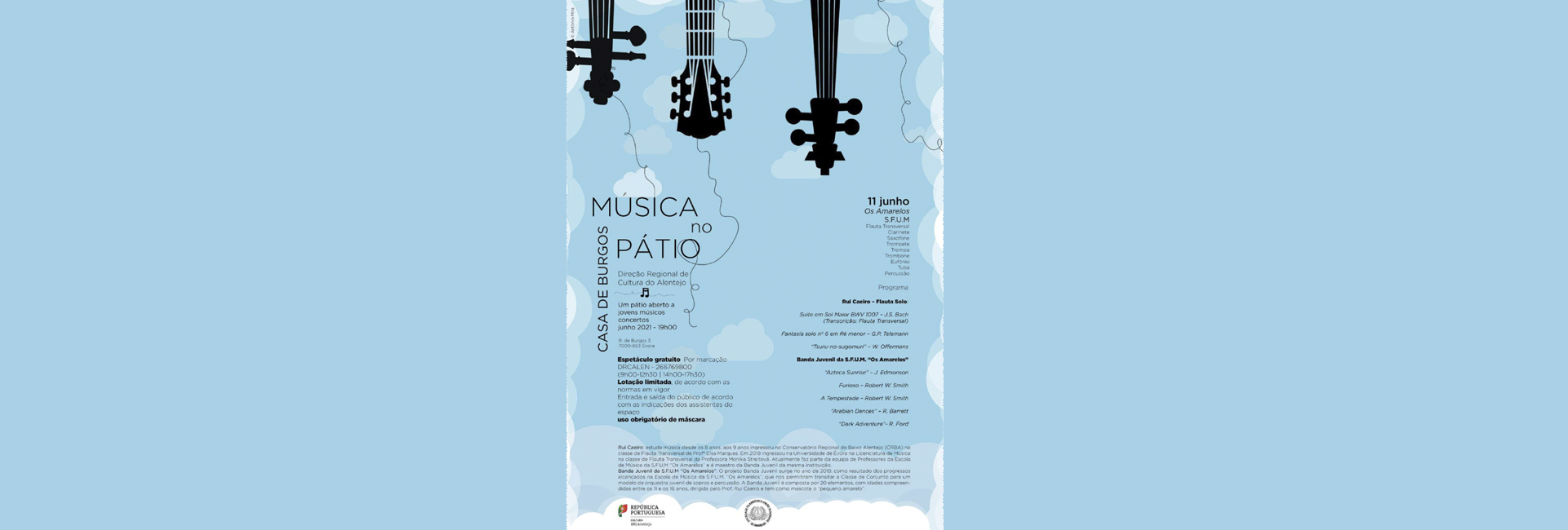 """""""Música no Pátio"""" – 3.ª edição"""
