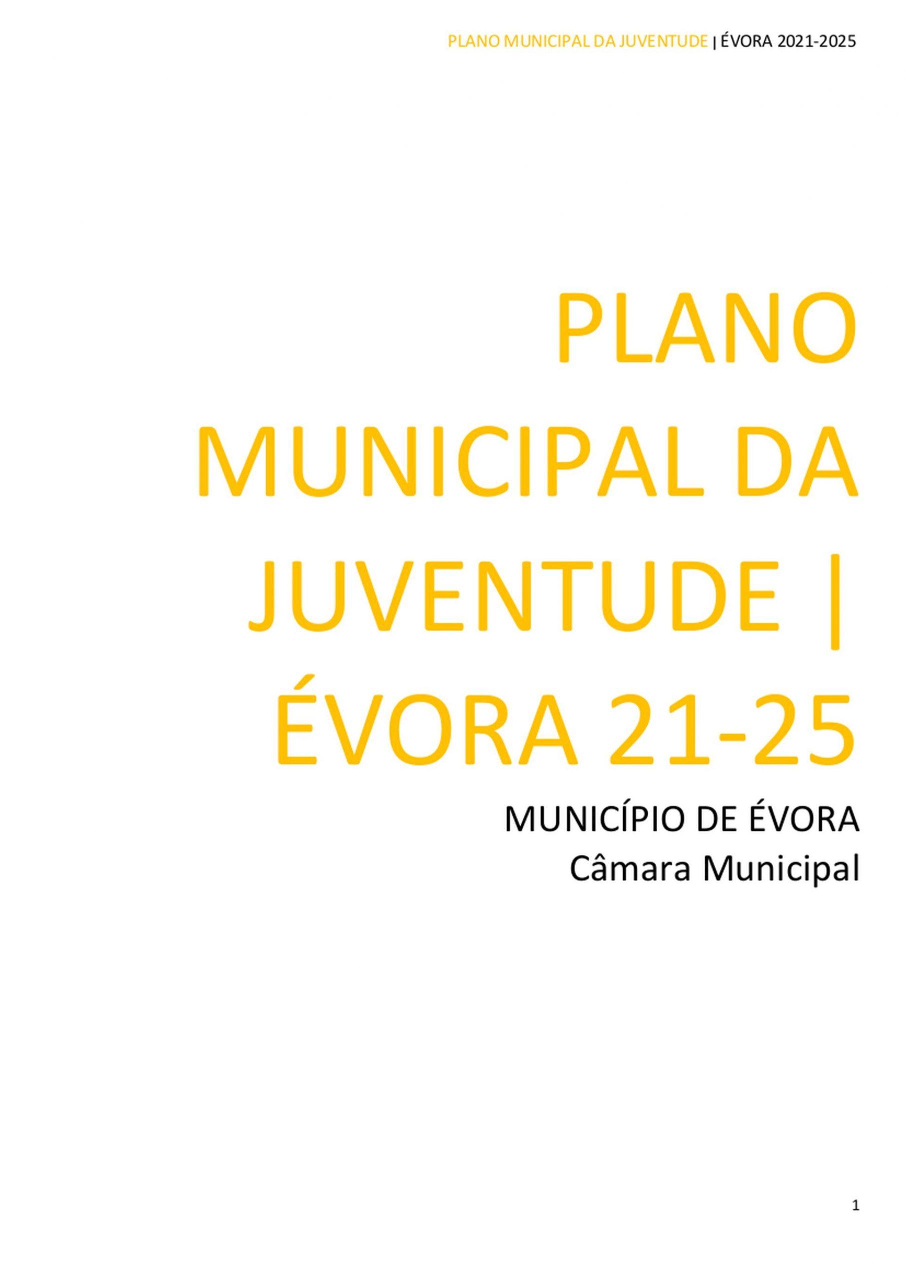 (Português) Conselho Municipal de Juventude de Évora deu parecer positivo ao Plano Municipal da Juventude de Évora 21-25
