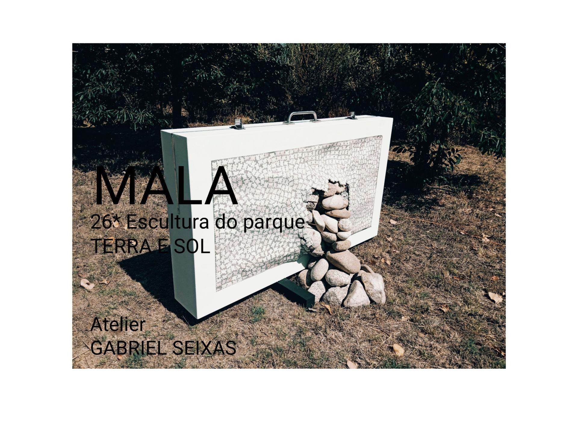 A Mala | Vigésima sexta escultura do Parque – TERRA E SOL / ATELIER GABRIEL SEIXAS