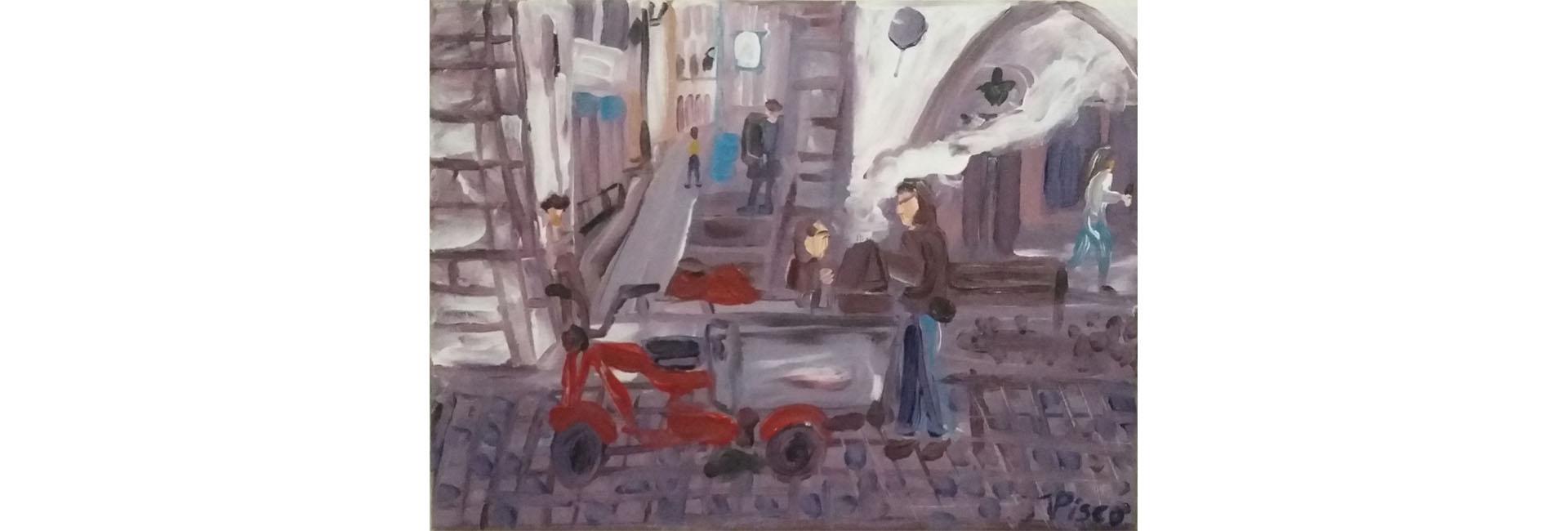 (Português) MEMÕRIAS E REFLEXÕES | Exposição de pintura de Vitor Pisco