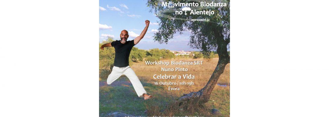 """Celebrar a Vida"" – Workshop de Biodanza SRT com Nuno Pinto"