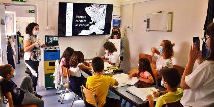 Nucleo Museológico do Alto de S. Bento acolheu oficina pedagógica sobre aves