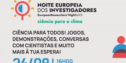 A Noite Europeia dos Investigadores está de regresso a Évora