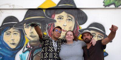 Portadores de Arte mostraram trabalho com a população do Bacelo