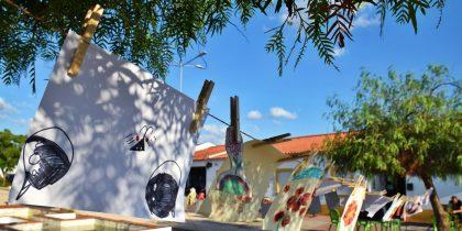 Portadores de Arte apresentou trabalhos feitos com a população em Nª Sª de Guadalupe