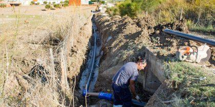 Substituição da Conduta de Abastecimento de Água a S. Manços