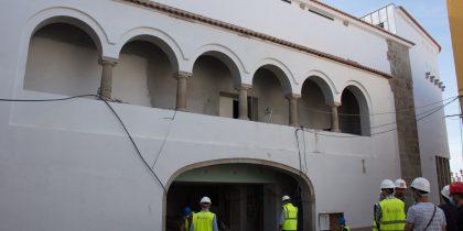 O edifício do antigo Salão Central Eborense está reconstruído