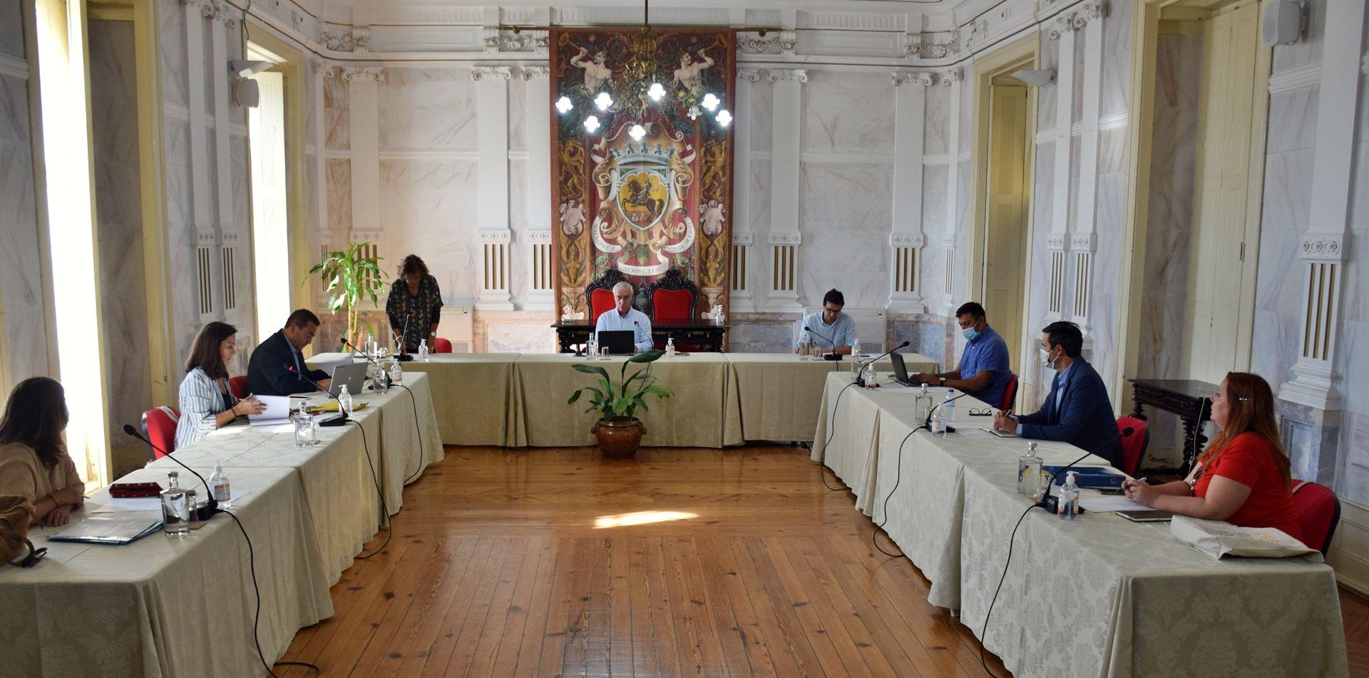 Em Reunião Pública de 20 de Outubro de 2021; Câmara de Évora procedeu à instalação e debateu funcionamento do Executivo